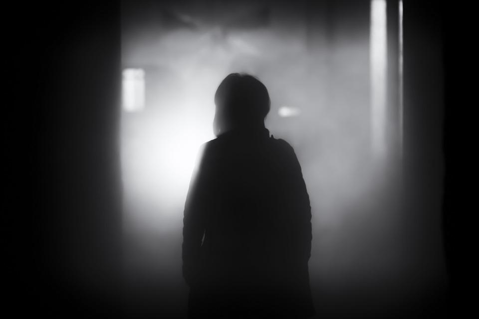 People, Shadow, Dark, Night, Smoke, Black And White