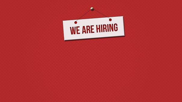 雇用, 募集, キャリア, ビジネス, 人間, レンタル, 仕事, 従業員
