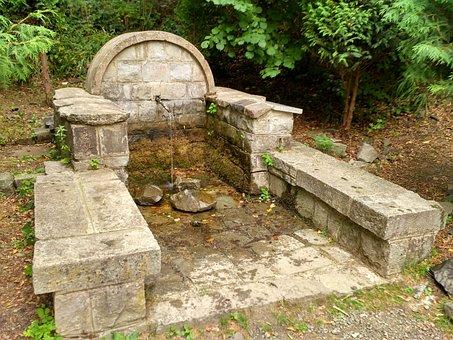 Mary-Quelle, Zimmer, Das Donauknie