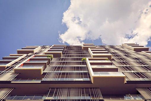 Architecture, Skyscraper, Modern, Facade