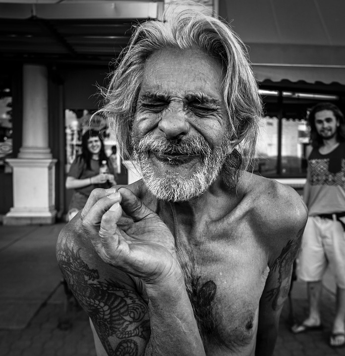 people old man black and free photo on pixabay