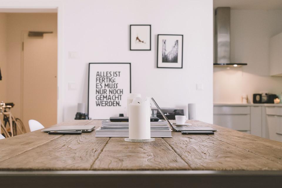 Mesa, Vela, Mac, Apple, Ordenador Portátil, Trabajo