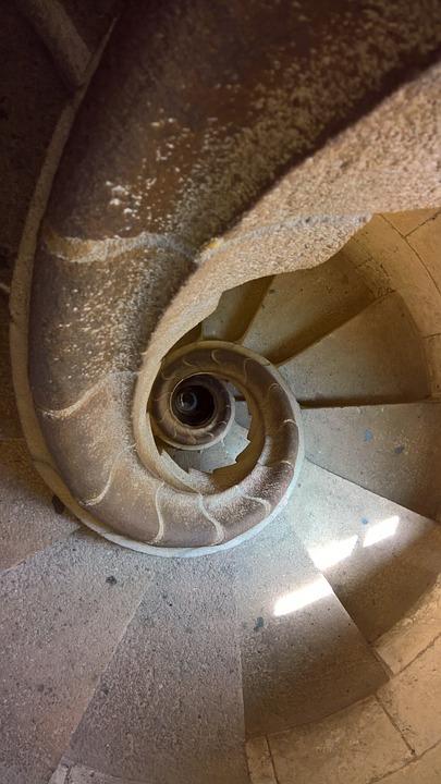 Escalera De Caracol Sagrada · Foto gratis en Pixabay