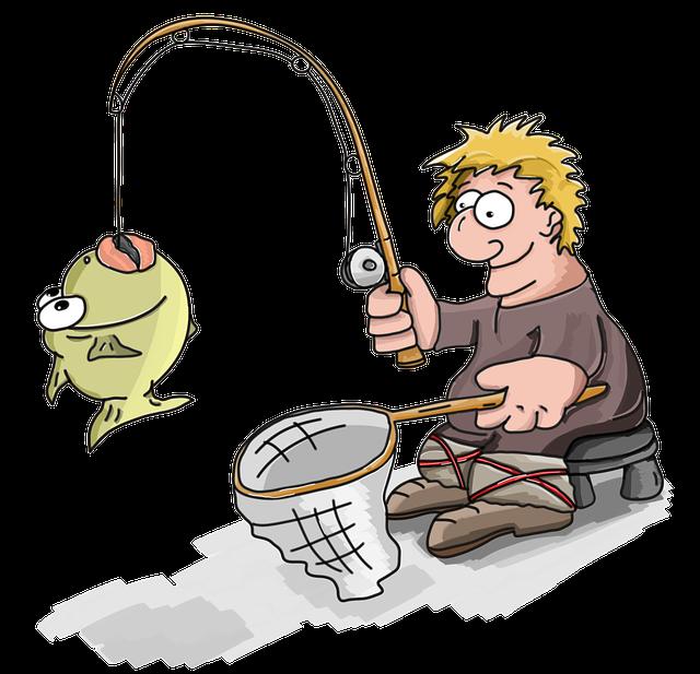 Fisherman Caught Fish · Free image on Pixabay