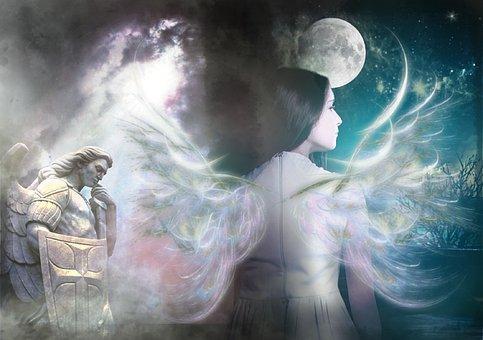 Μυθικός, Γυναίκα, Γωνία, Mon, Ανάστημα