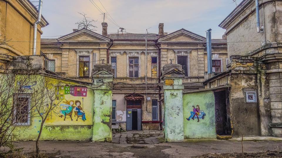 Odessa Yard Fence U00b7 Free Photo On Pixabay