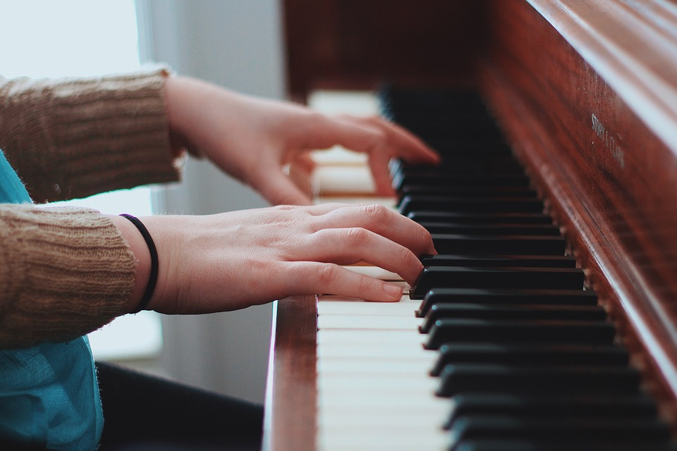 People, Hands, Piano, Instrument, Music, Sound, Chords