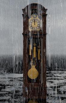 Grandfather Clock, Clock, Pendulum, Time
