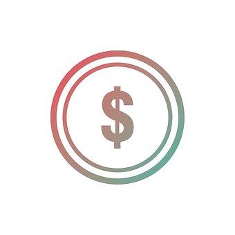 コイン, アイコンを, お金, ビジネス, ファイナンス, 銀行, 通貨, 現金