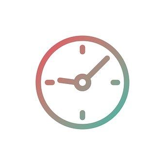 Time, Icon, Clock, Symbol, Sign, Design