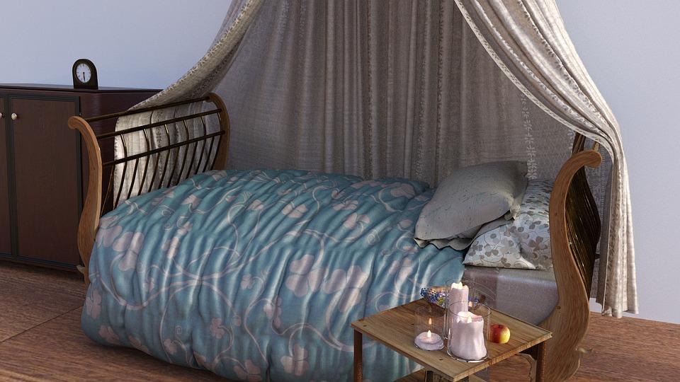 Bett Schlafzimmer Schlafen Kostenloses Foto Auf Pixabay