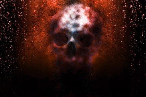 Skull, Horror, Halloween, Death, Dead