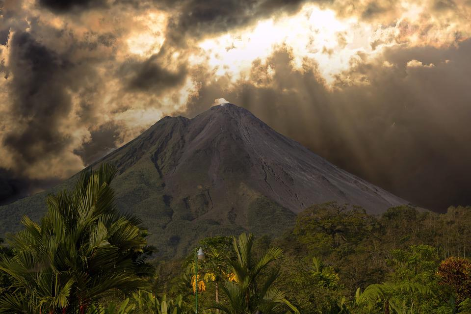 Costa Rica, Volcan, Paysage, Costa, Rica, Nature