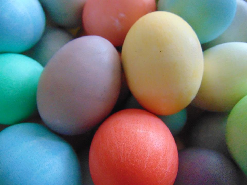 Easter Eggs Color Free Photo On Pixabay - Color-easter-eggs