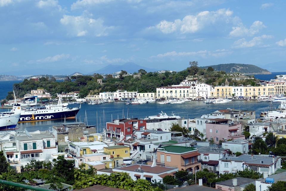 Ischia, Italia, Mediterraneo, Turismo, Vacanza, Isola