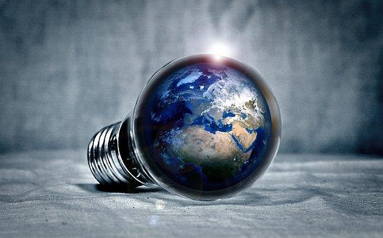 Terre, Planet, Continents, La Lumière