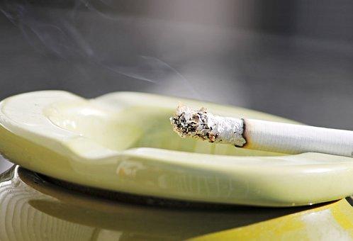 シガレット, 煙, 灰皿, 喫煙, タバコ, 灰, 求める, 残り火, 不健康