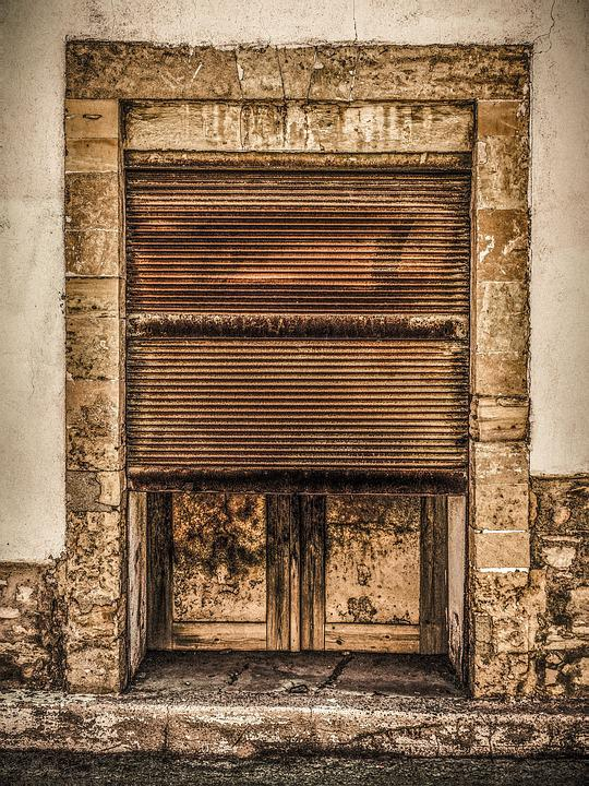 Rusty Door free photo: door, old, rusty, shop, entrance - free image on