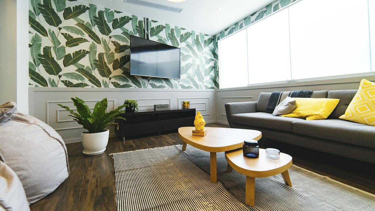 Obývací Pokoj, Dům, Interiér, Design, Gauč, Polštář