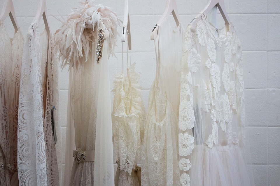 Dress, White, Wardrobe, Closet, Wall, Event