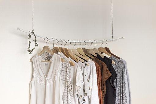 ドレス, 衣料品, ハンガー, 鋼, ランドリー, ハンガー, ハンガー