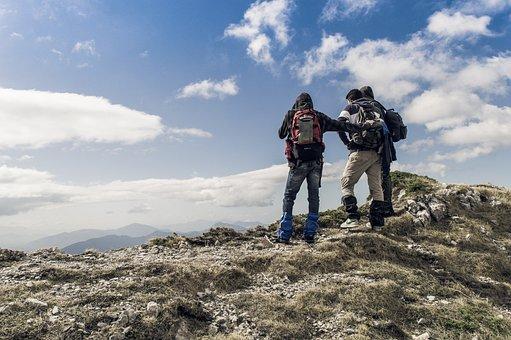 People, Men, Travel, Adventure, Mountain
