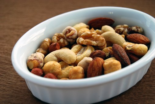 Food, Nuts, Almond, Cachew, Gourmet