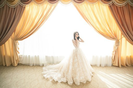 Wedding, Marriage, Bride, Gown, White