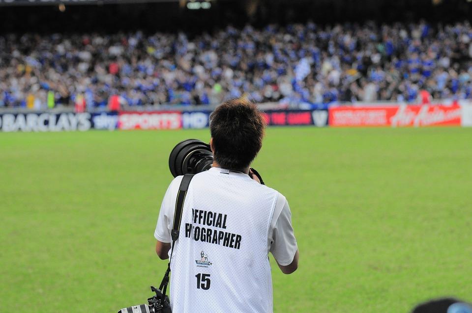 Sport Fotograf Fussball Kostenloses Foto Auf Pixabay