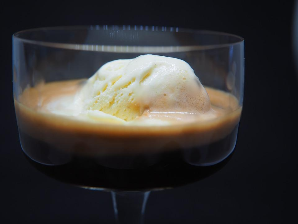 Espresso, Koffie, Ijs, Affogato Al Caffè