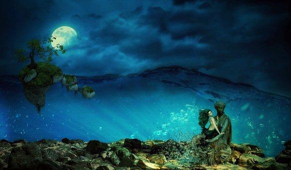 """Θάλασσα, Î""""Î¿Ïγόνα, Μυστικιστική, ÎεÏÏŒ"""
