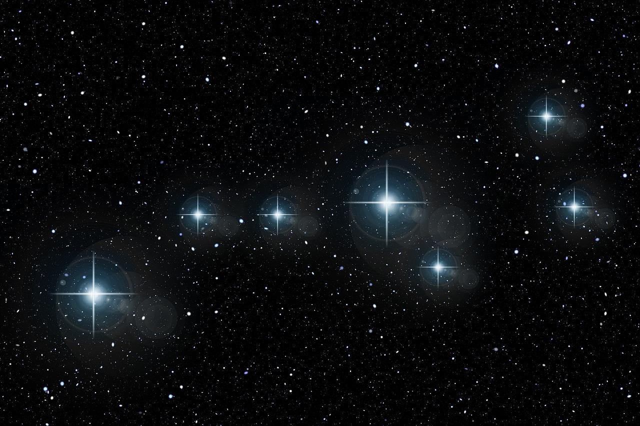 Картинки больших звезд в небе