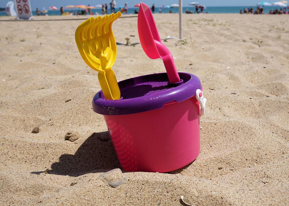 Beach, Sand, Toys, Children Toys, Sand Beach, Water