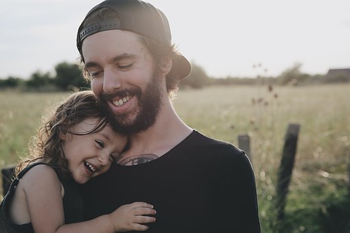 People, Father, Daughter, Smile, Happy