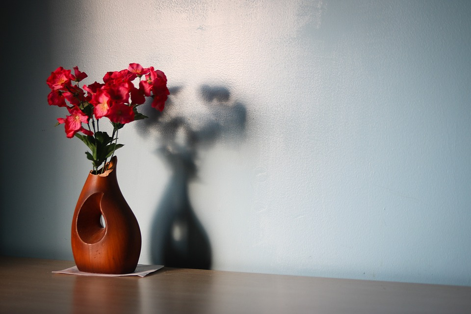Flower Wooden Vase Free Photo On Pixabay