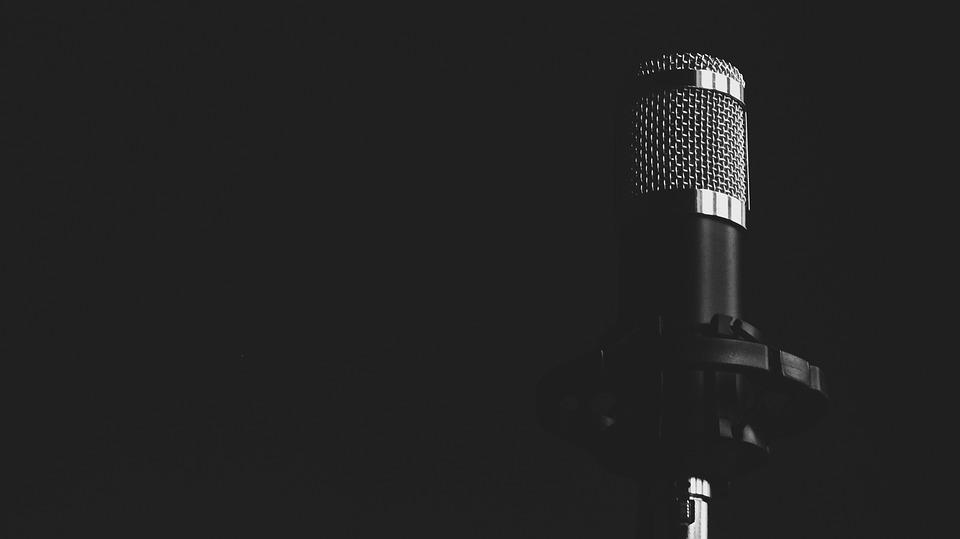 Microphone Musique Noir Et Blanc - Photo gratuite sur Pixabay