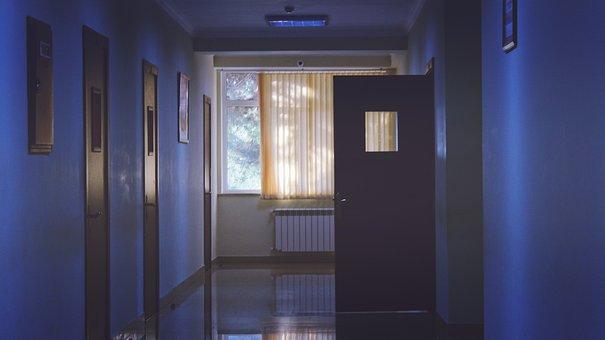 Door, Window, Curtain, Glass, Floor