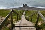 denmark, north sea, cliff