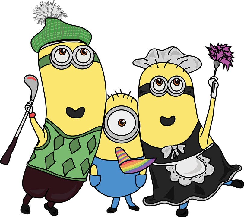 minions friends buddies 183 free vector graphic on pixabay