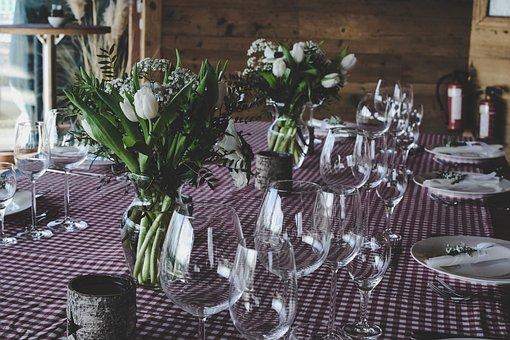 Tisch, Platte, Geschirr, Fine Dining