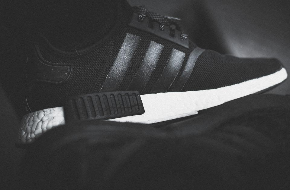 Adidas, Nmd, La Mode, Chaussures, Sole, Black, Blanc