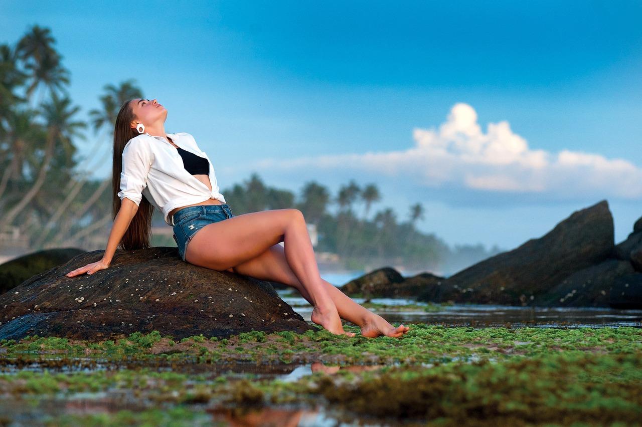 Красивые девушки фото голышок на природе честно