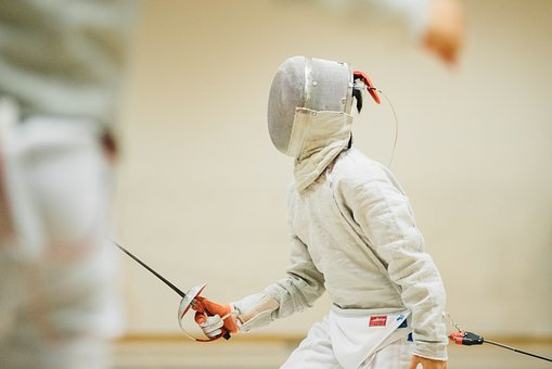 People, Man, Teen, Sport, Fencing