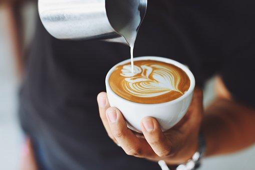 Kawa, Cafe, Gorący, Kubek, Puchar, White