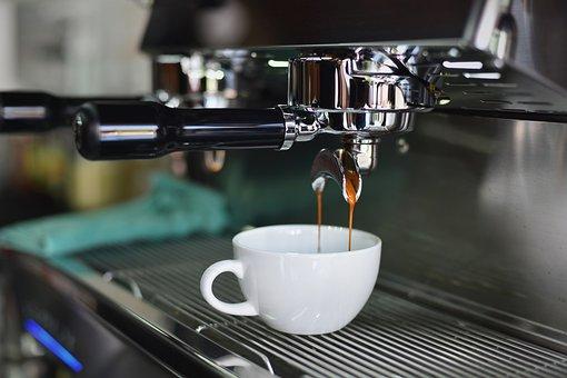 コーヒー, カフェ, 木材, ホット, マグカップ, カップ, ホワイト