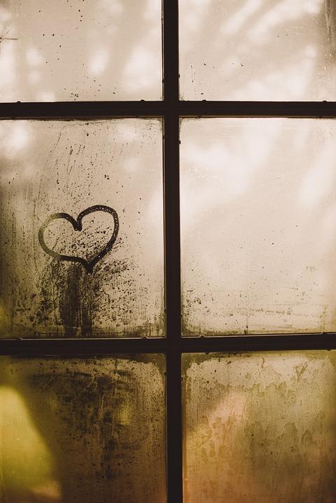 Pencere Kalp Cizim Pixabay De Ucretsiz Fotograf
