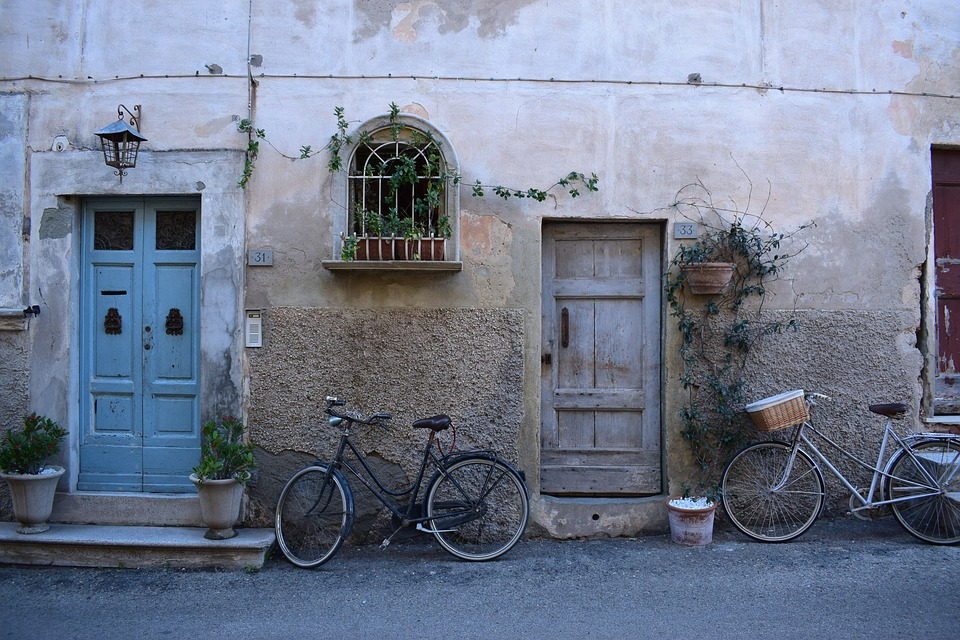 Fahrrad Wand Strasse Kostenloses Foto Auf Pixabay