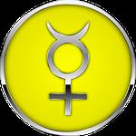 mercury, planet, sign