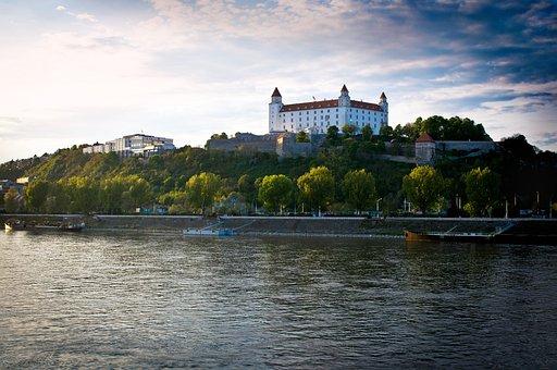 Bratislava, Castillo, Danubio