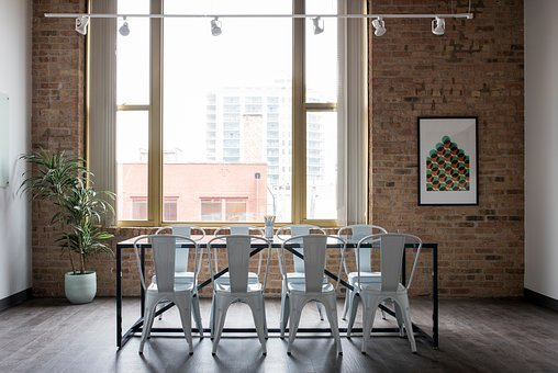 House, Interior, Design, Table, Chairs